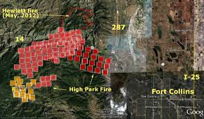 Wild Fire Update Montana by High Park Fire Update And Map June 10 2012 U2014 Very Active