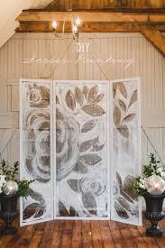 Backdrops For Weddings Diy Screen Painting Backdrop Ruffled