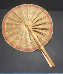oriental fan wall hanging hand made oriental fan japanese fan wall hanging decor vintage fan