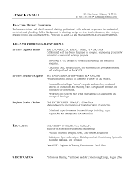 hvac resume template entry level hvac resume sle paso evolist co