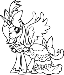 My Little Pony Coloring Pages Free To Print Free Printable 4283 Pony Color Page