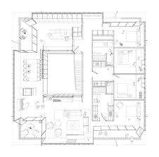 Block House Plans Gallery Of Ef House Grnd82 12