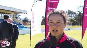 lauren smith on wollongong announcement sydney sixers bbl