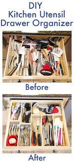 kitchen tidy ideas diy kitchen utensil drawer organizer easy drawer organisers