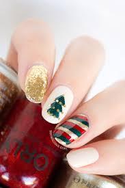 top 10 wonderful diy christmas nail art ideas top inspired