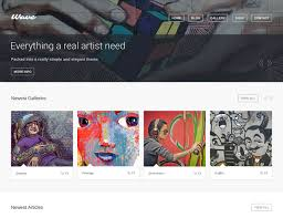 25 best wordpress themes for artists 2017 athemes