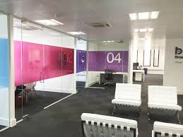 Interior Partition Wall by Glass Partitioning At Contractors Ltd Leeds Glass