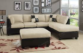 Sofas For Small Spaces Small Spaces Grey Microfiber Configurable Sectional Sofa Best