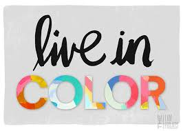 live in color black and white pop of color theme yearbook theme