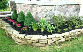 Rock Garden Beds Rock Flower Beds Rock Flower Beds Ideas About Rock Flower Beds On