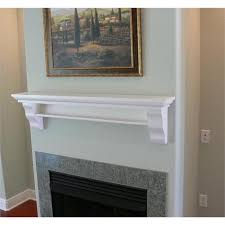 Fireplace Mantel Shelves Designs by White Fireplace Mantel Shelf Decoration Ideas Information About