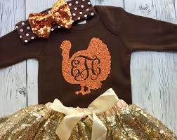 Thanksgiving Dress Baby Thanksgiving Etsy