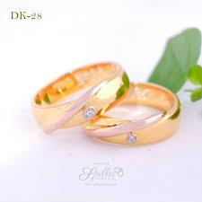 cincin lapis emas cincin tunangan silver lapis emas toko cincin kawin berkualitas