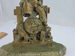 weighted door stop antique door stop heavy weighted brass dutch or austro hungarian