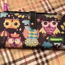 bloom wallet bloom bloom owl pattern wallet from cori s