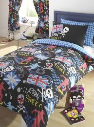 Single Bed Linen Sets Skateboarding Themed Bed Sets In Single Or Double Size Single