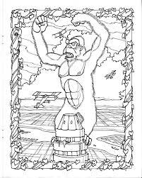 king kong coloring mark savee king kong