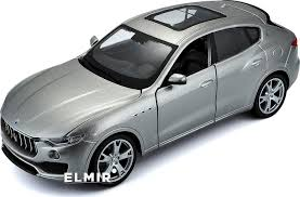 maserati silver автомодель bburago maserati levante silver gold 1 24 18 21081