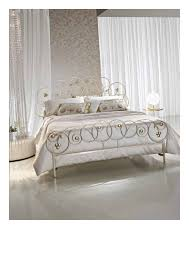 Silver Leaf Bedroom Furniture by Wrought Iron Double Bed Mon Amour Banater Eisen