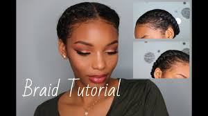 how to braid your own hair braid tutorial protective styles
