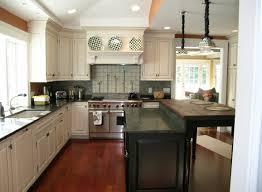 Black Shaker Kitchen Cabinets Kitchen Dazzling White U Shape Kitchen Cabinet Design Ideas