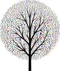 tree symbol clipart chromatic gender symbols tree