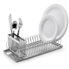 decor u0026 tips cool compact stainless steel dish rack for dish