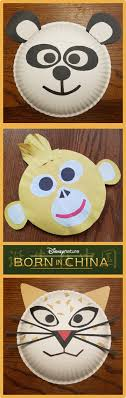 Paper Plate Monkey Craft - born in china paper plate craft rural