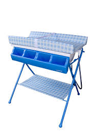 Changing Table With Bath Tub Baby Diego Bathinette Standard Blue Baby Bathing