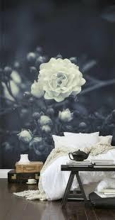 Schlafzimmer Wanddekoration Wanddeko Ideen Mit Floralen Motiven