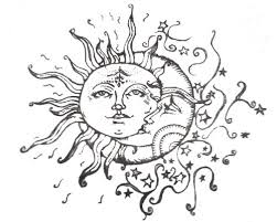 sun moon u0026 stars tattoo i made a plate and crave this exact design