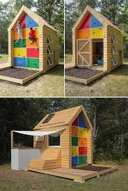 Backyard Clubhouse Plans by 18 Best Playhouse Plans Images On Pinterest Toys Backyard
