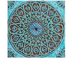 marokkanische wand hängen hergestellt aus keramik außenwand