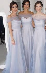cheap light blue bridesmaid dresses cheap see through lace top a line ivory tulle bridal dress