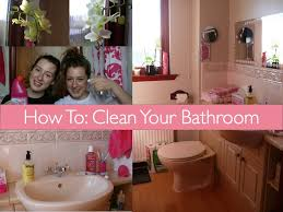 How To Clean Your Bathroom by