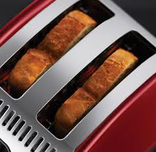 Red 2 Slice Toaster Russell Hobbs Legacy Metallic Red 2 Slice Toaster 21291