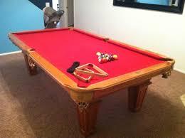 Red Felt Pool Table Used Pool Tables Phoenix Az Billiard Gallery