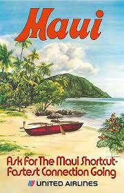 Hawaii Travel Art images Hawaii turns 55 12 dazzling vintage hawaiian travel posters jpg