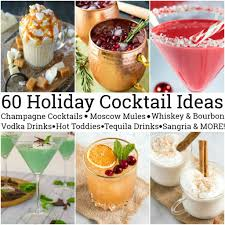 how to host a cocktail party 60 amazing holiday cocktail ideas delightful e made