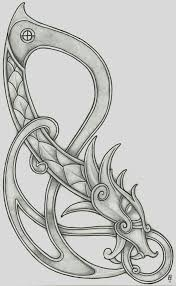 the symbolic dragon tattoos 76 best celtic images on pinterest drawings celtic designs and