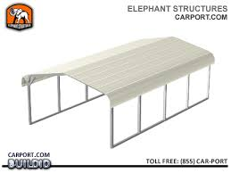 Steel Car Port Metal Carports Steel Garages Storage Sheds U0026 Rv Covers