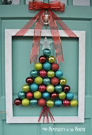 backyards creative front door christmas decorations sparkle for