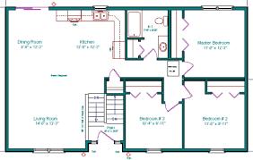bi level house floor plans split level ranch floor plans homes floor plans