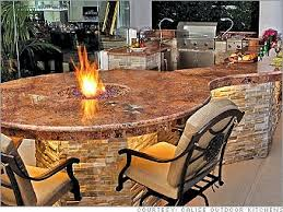 outdoor kitchen island 6 backyard design ideas for dallas outdoor living spaces small