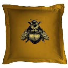 Cushions Velvet Timorous Beasties Cushions Napoleon Bee Cushion