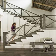 not just for decks cable railing looks even better in your home