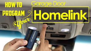 how to program universal home remote aka homelink garage door