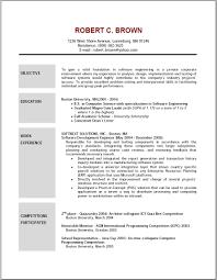 Resume Goal Statement Sample Resume Objective Nardellidesign Com