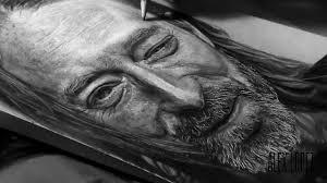 drawing thom yorke from radiohead youtube