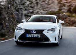 white lexus lexus rc coupe review 2015 parkers